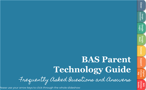 BAS Parent Technology Guide