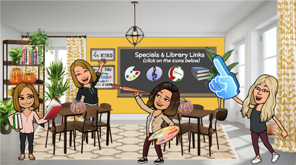 Specials & STEAM Virtual Classrooms